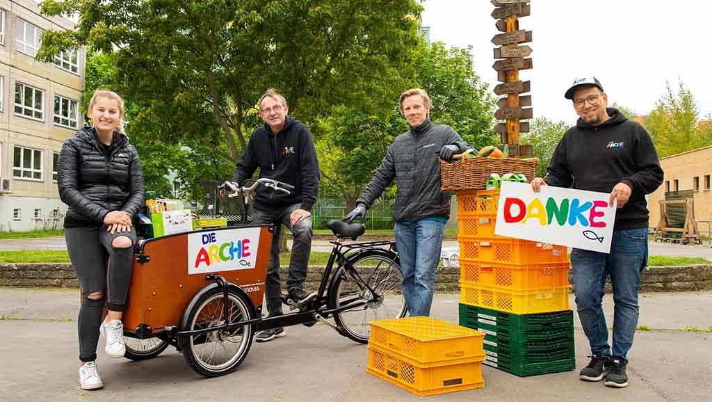 """Berlin-Hellersdorf: Ein Lastenrad für """"Die Arche"""""""