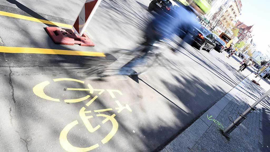 Temporäre Radwege: Eine Revolution auf den Straßen