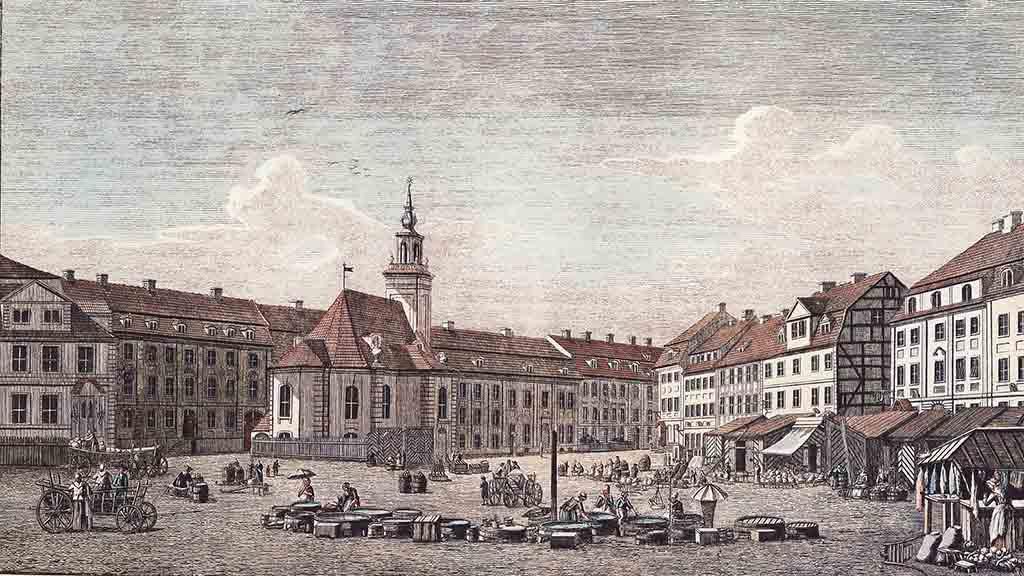 Berliner Geschichte: Spitäler zum Gesunden nicht geeignet