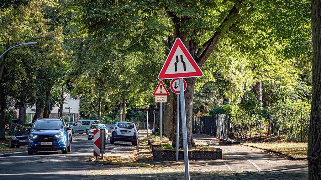 Berlin-Hermsdorf: Gutachten kippt Plan für Straßensperren