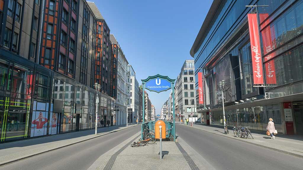 Friedrichstraße: Fußgängerzone trotz Corona-Krise?