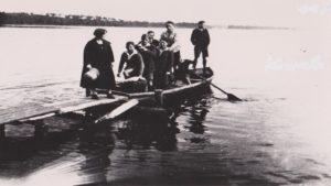 Eine Bootstour zur Insel Scharfenberg im Tegeler See