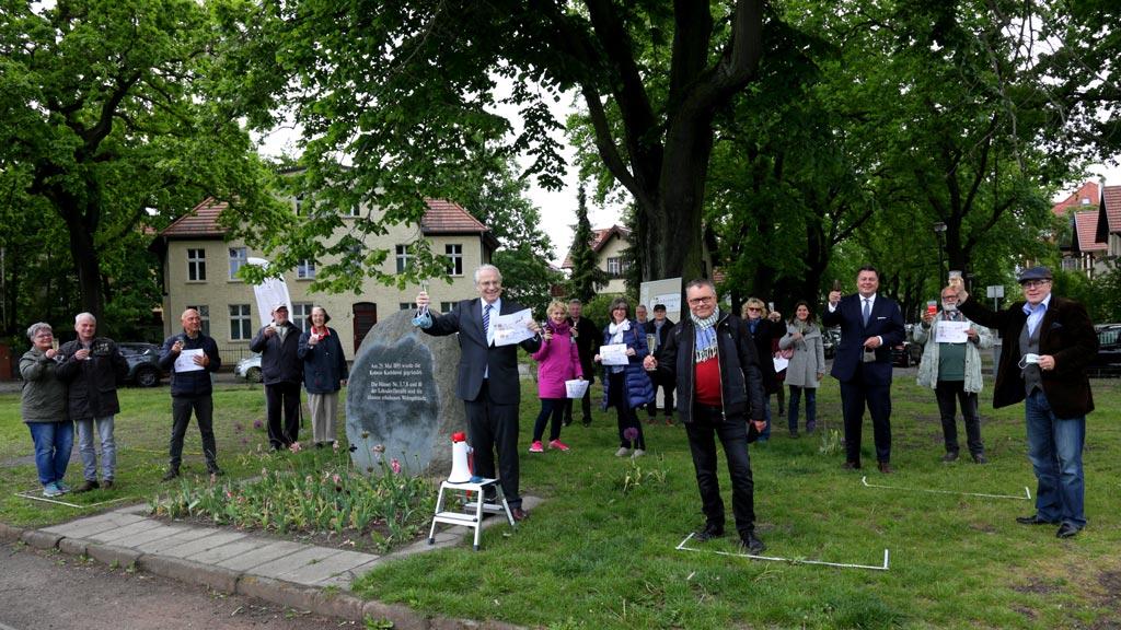 Berlin-Karlshorst: Kleiner Empfang zum 125. Geburtstag