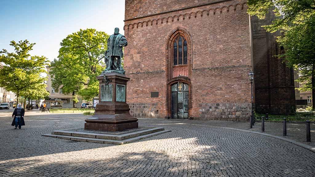 Berlin-Spandau: Reformationsplatz erhält neues Gesicht