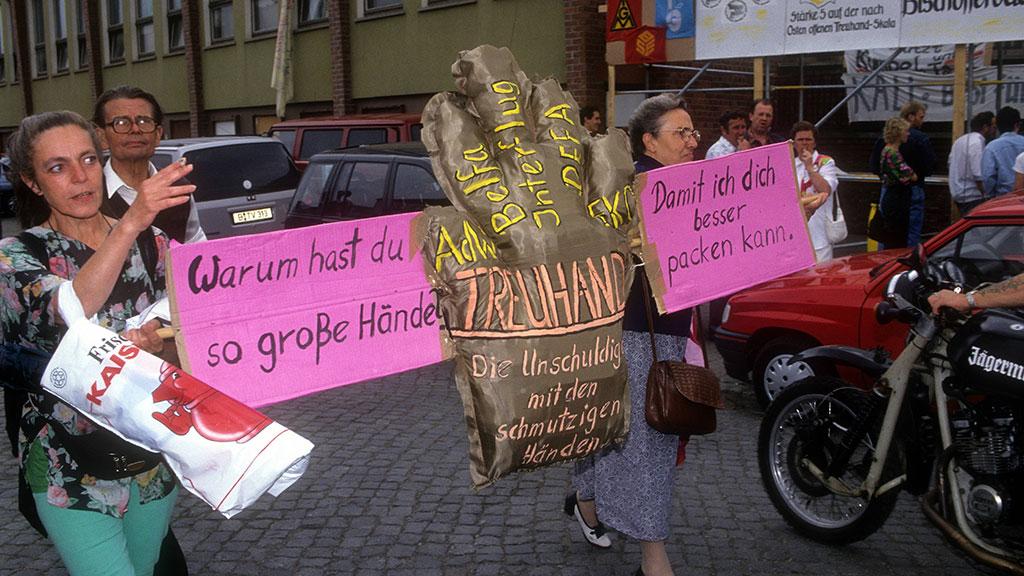 Protest 1993 in Bischofferode