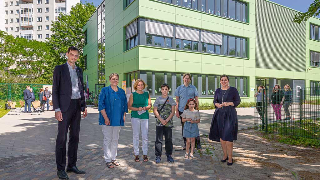 Neukölln: Schul-Ergänzungsbau eingeweiht