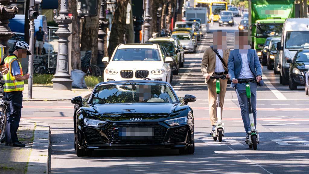 Alle vier Minuten kracht es auf Berlins Straßen