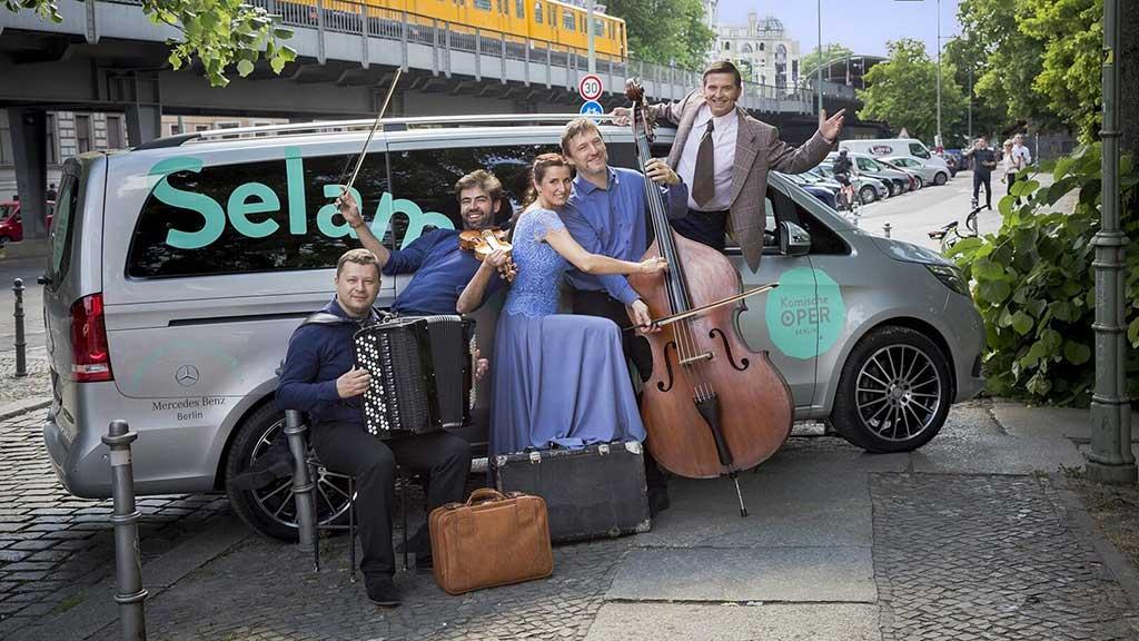 Berlin-Kreuzberg: Komische Oper gibt Hinterhofkonzerte