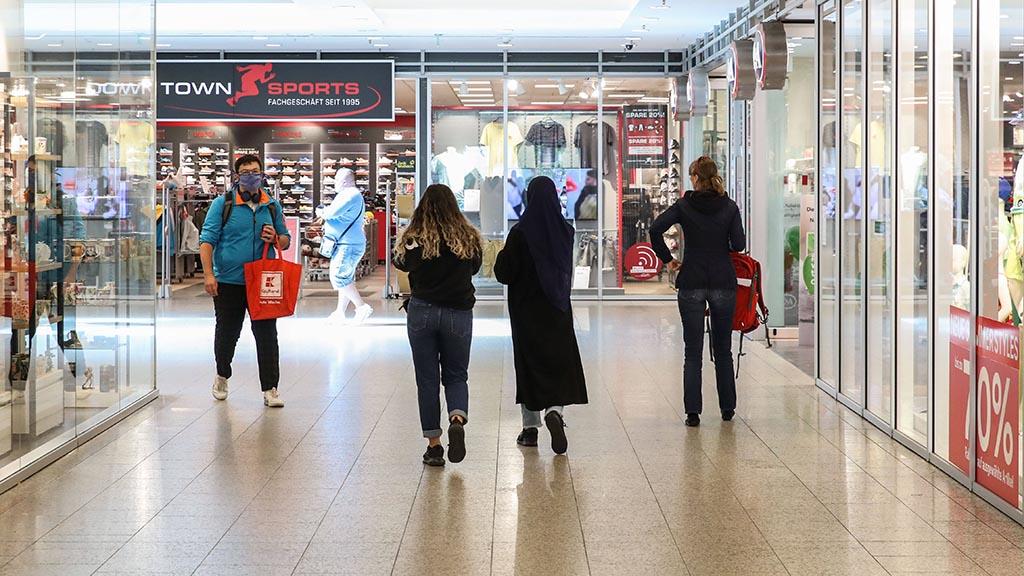 Berliner Einkaufszentrum