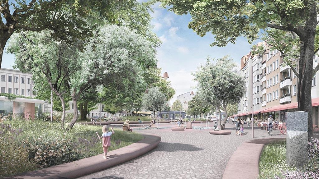 Berlin-Reinickendorf: Ausstellung zeigt Entwürfe für Franz-Neumann-Platz
