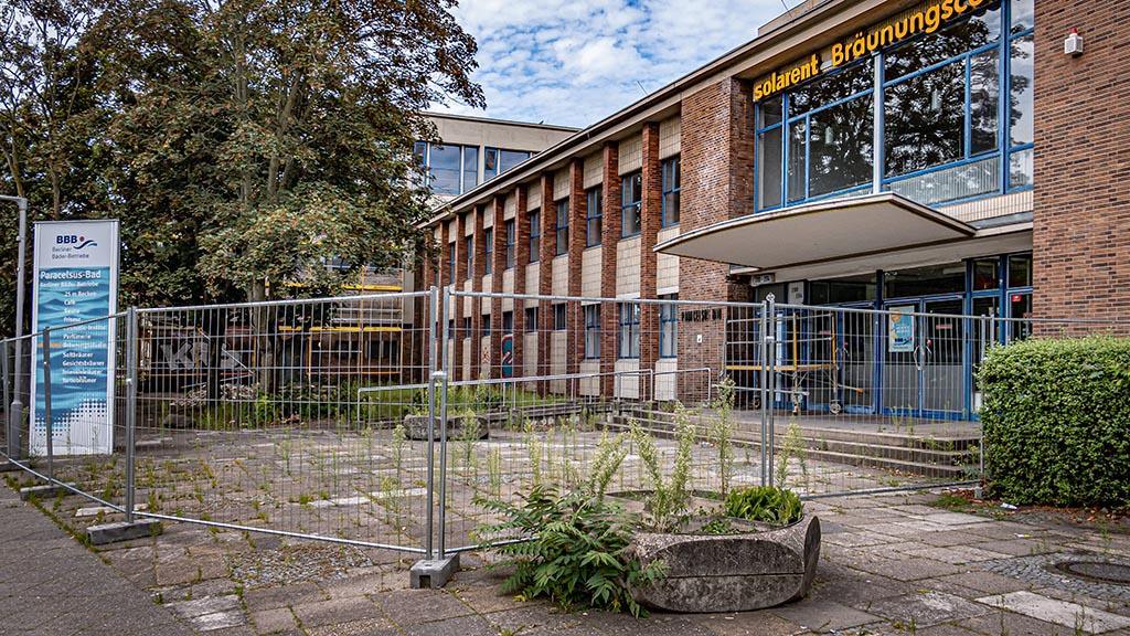 Berlin-Reinickendorf: Paracelsus-Bad wird erst 2023 fertig
