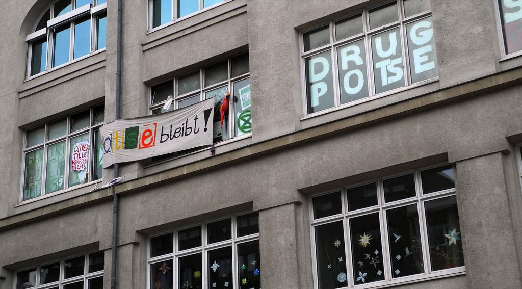 "Berlin-Schöneberg: Jugendclub ""Potse"" steht vor Räumung"