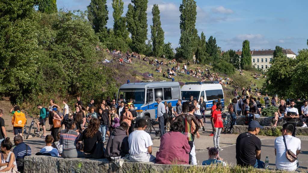 Party im Park