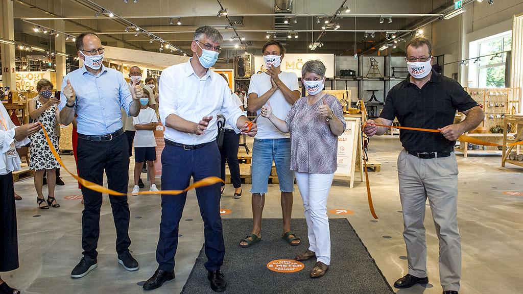 Berlin-Reinickendorf: BSR eröffnet Gebrauchtwarenkaufhaus