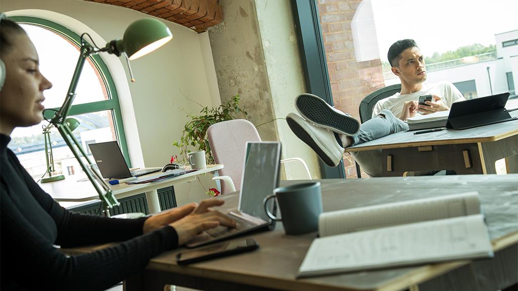 Coworking oder Workation: Die neue Arbeitswelt