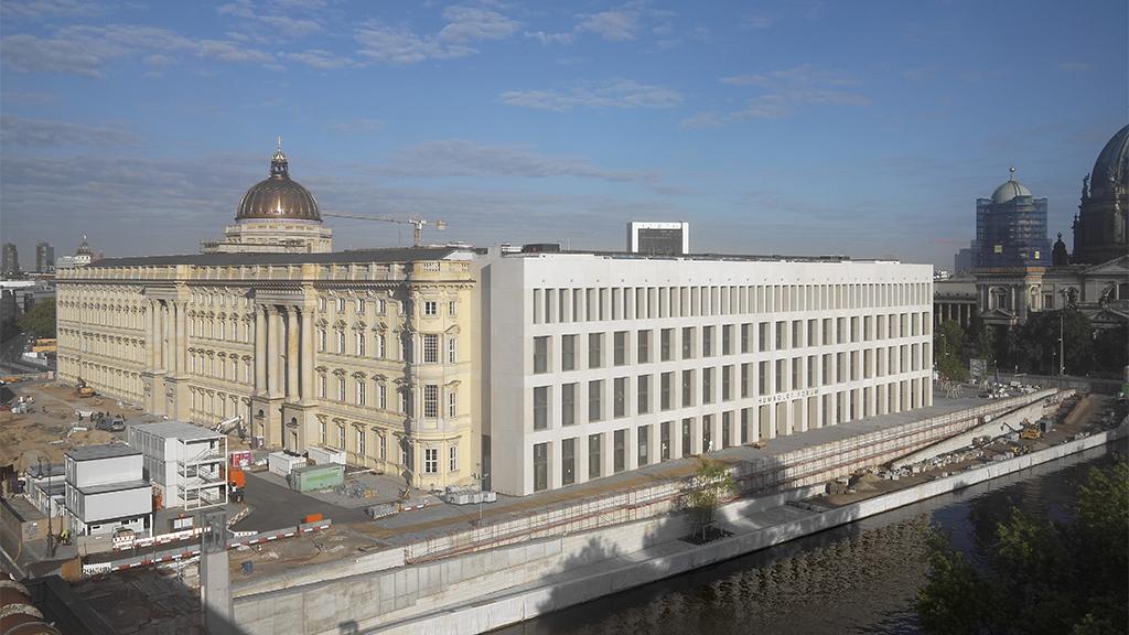 Berlin-Mitte: Humboldt Forum soll im Dezember eröffnen