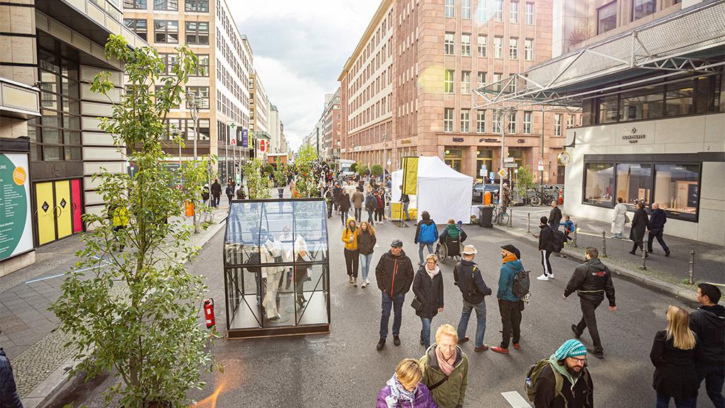 Berlin-Mitte: Friedrichstraße wird ab 29. August autofrei