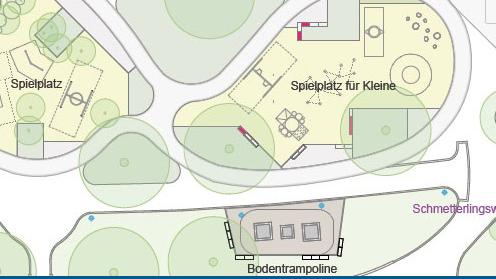 Umbau des Boulevards Kastanienallee in Hellersdorf beginnt