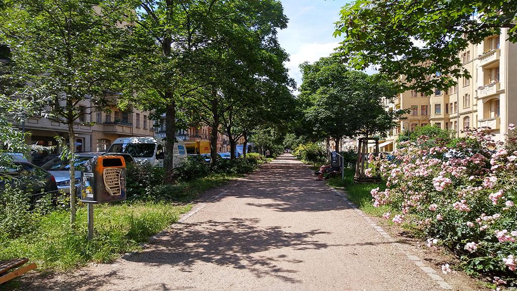 Berlin-Friedrichshain: Insekten retten im Samariterkiez