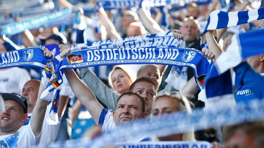 Ostdeutsche Fußballfans