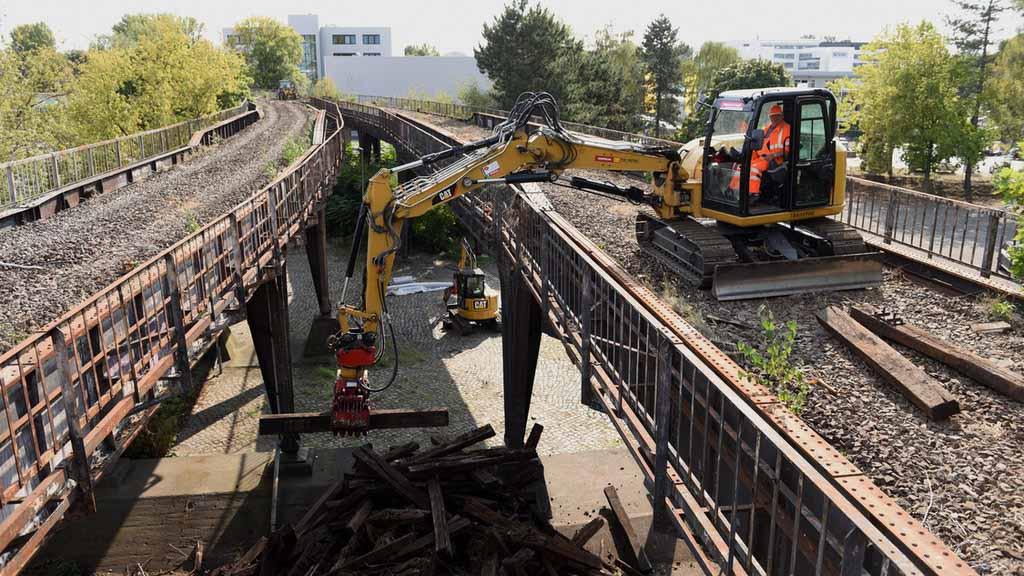 Berlin-Spandau: Arbeiten für S-Bahn zum Siemens-Campus angelaufen
