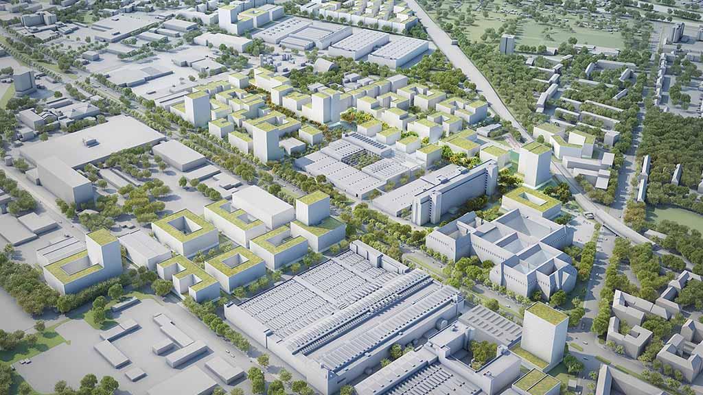 Berlin-Siemensstadt: Nächste Etappe der Verwandlung