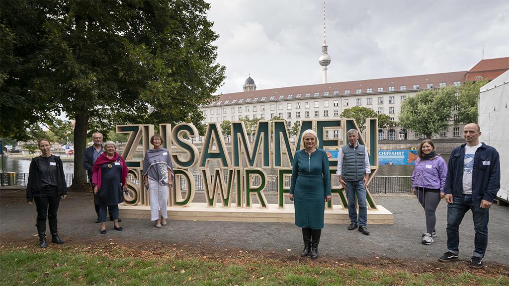 Zusammen sind wir Park: Einsatz fürs Berliner Stadtgrün