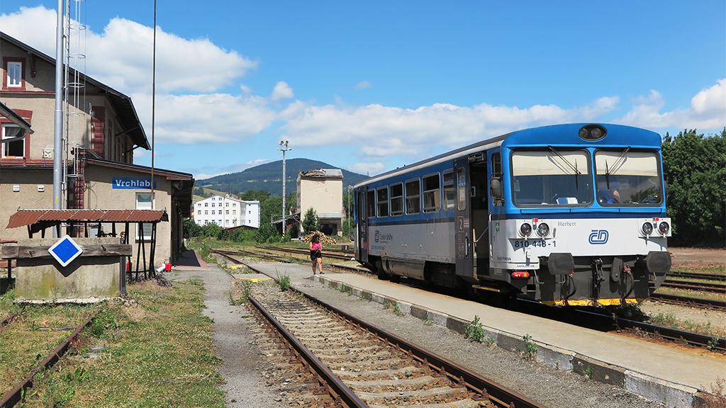 Auf Schienen nach Tschechien