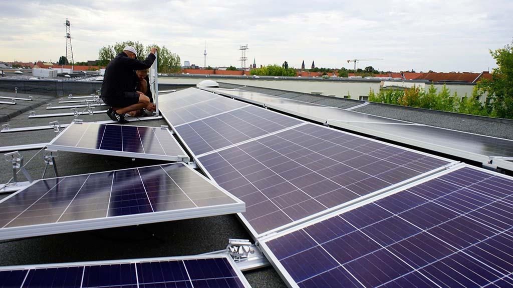 Berlin-Pankow: Sonnenstrom für Wohngebäude