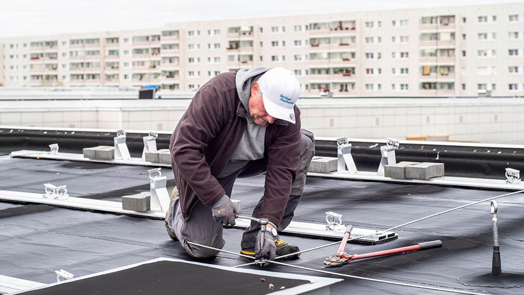 Berlin-Hohenschönhausen: Der Mühlengrund erntet Solarstrom