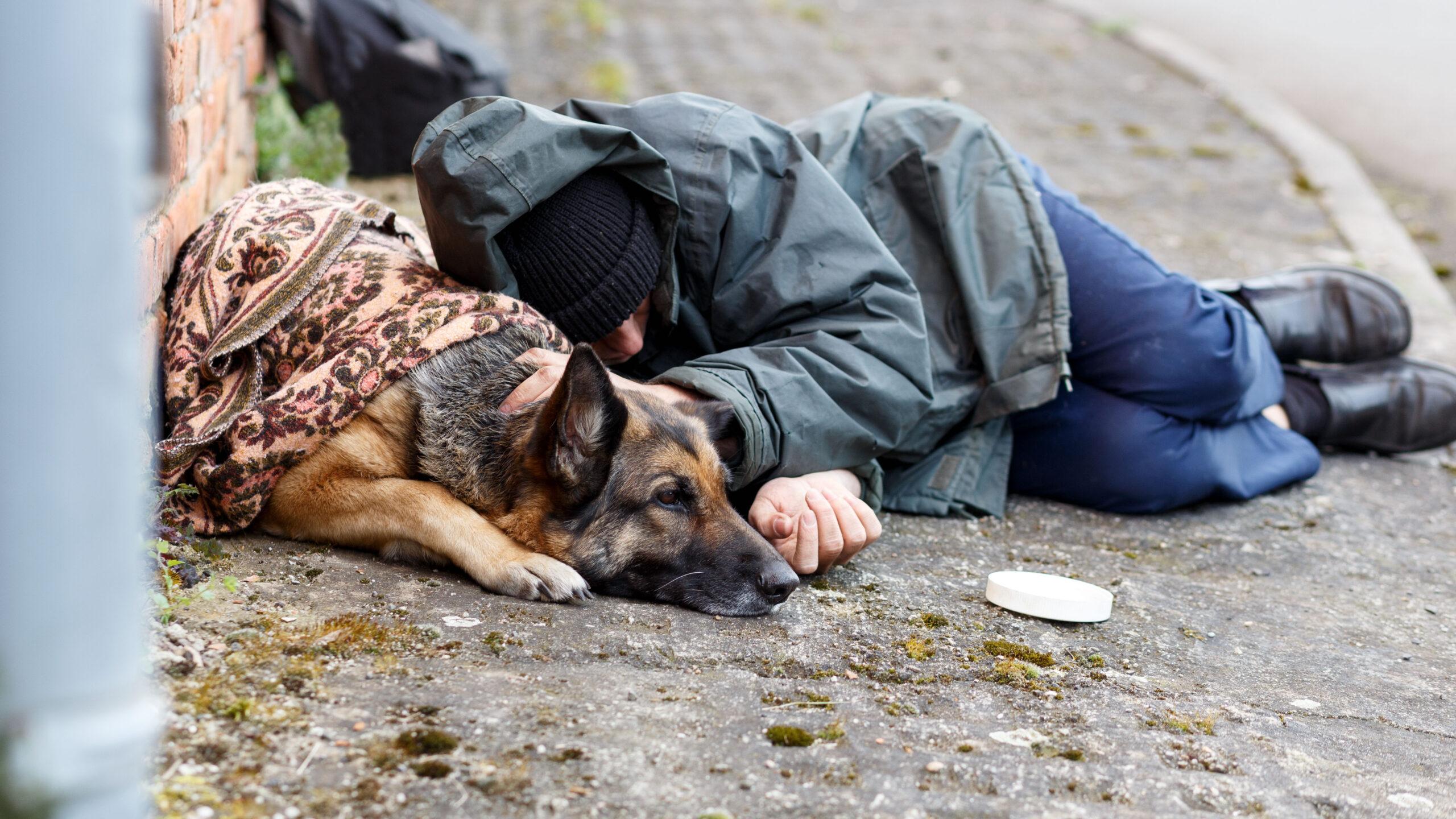 Spenden in Schöneberg: Obdachlose nicht vergessen
