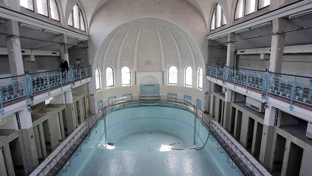 Berlin-Steglitz: Ein Stadtbad zum Wachküssen