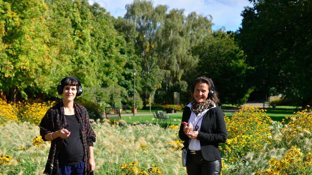 Audiowalk in den Gärten der Welt