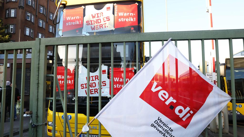 Berliner Nahverkehr: Streik bei der BVG am kompletten 9. Oktober