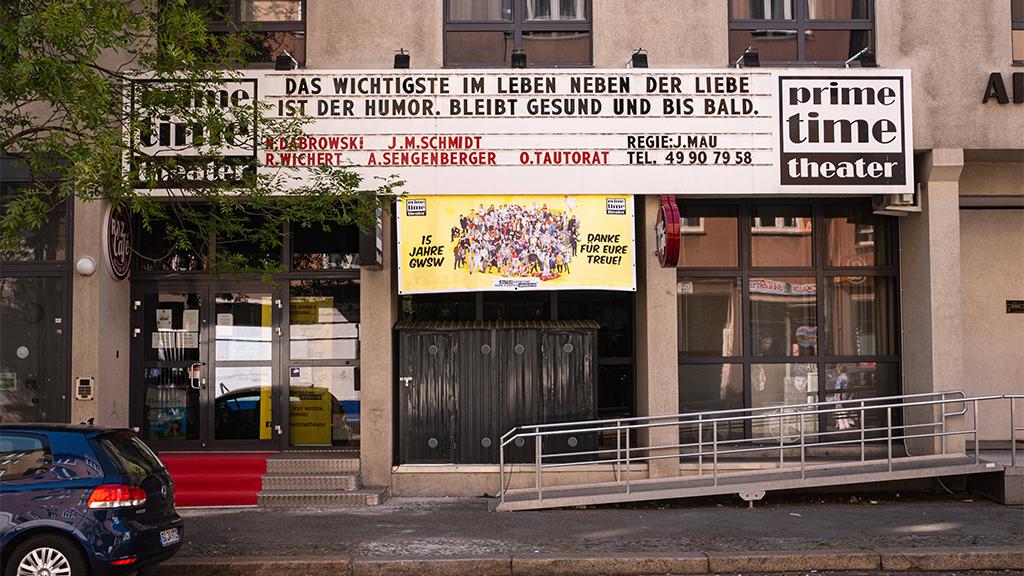 Berlin-Wedding: Prime Time Theater geht früher in den Lockdown