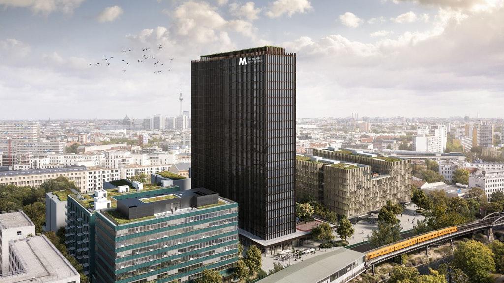 Friedrichshain-Kreuzberg: Grünes Licht für Quartier am ehemaligen Postbank-Tower