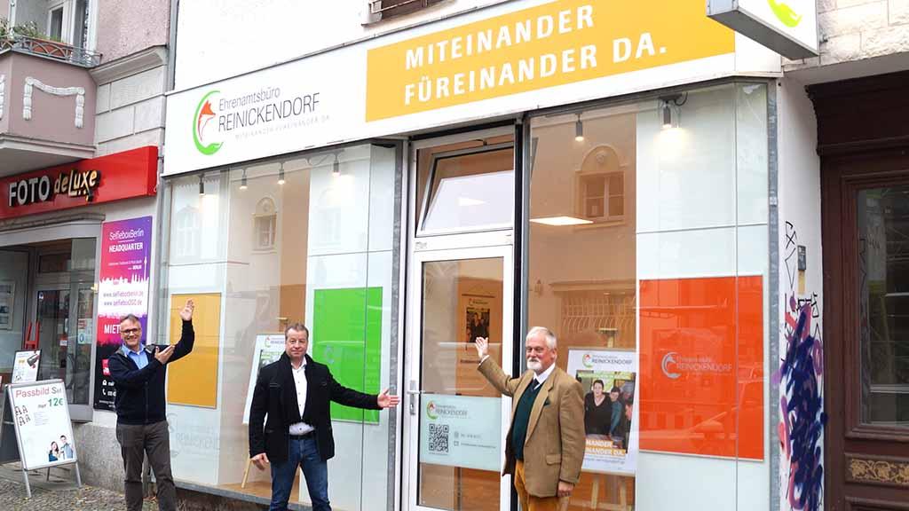 Ehrenamtsbüro Reinickendorf eröffnet Standort in Tegel