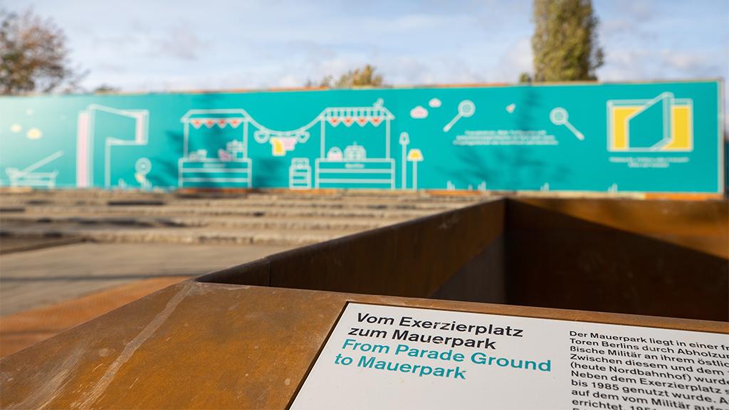 Berlin-Pankow: Mauerpark hat neuen Vorplatz