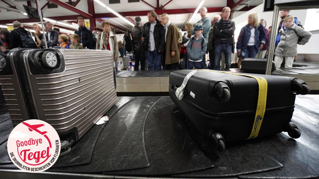 Damals am TXL: Ein Holzbein im Handgepäck