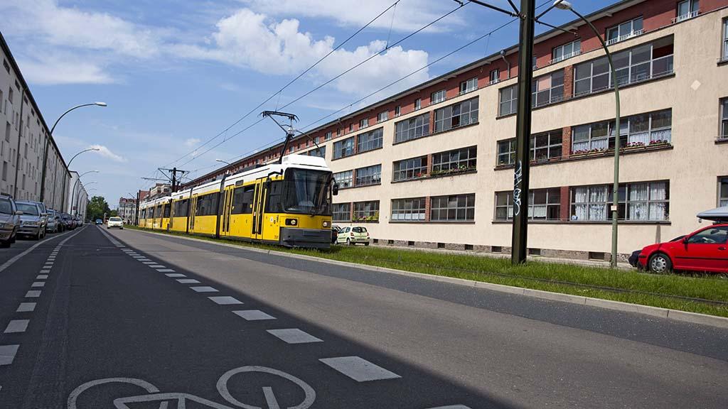 Neue Weichen für die Berliner Allee in Weißensee