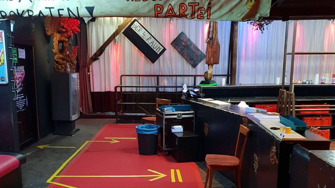 Kit Kat Club wird zum Corona-Testzentrum