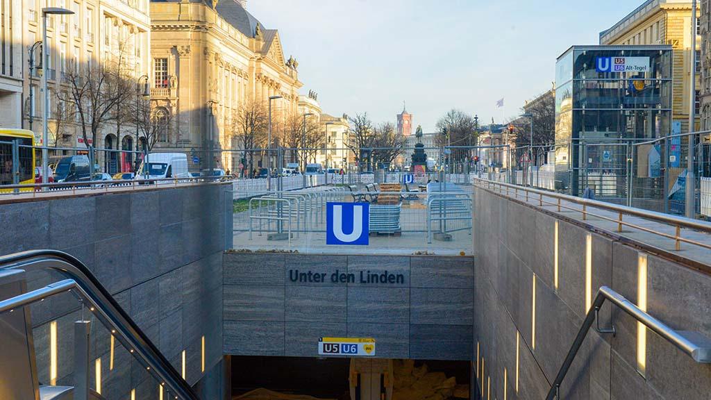 Berliner U-Bahnlinie 5: Lückenschluss ist Erfolgsgeschichte