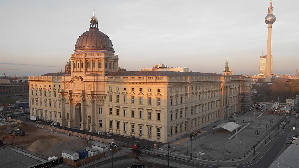 Humboldt Forum eröffnet erst mal nur online