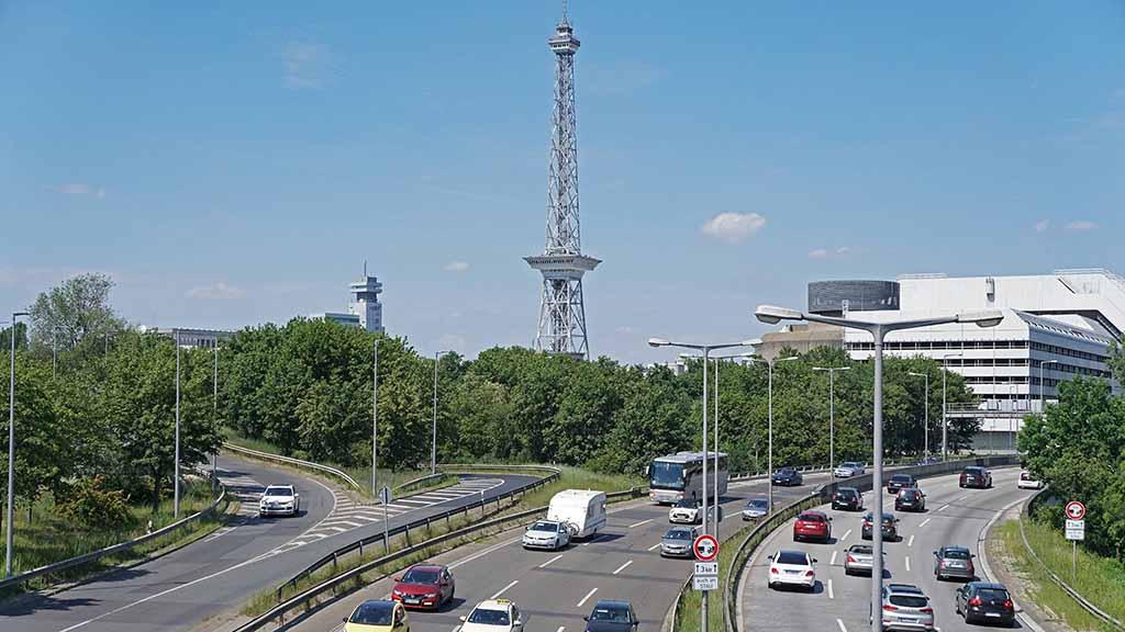 Berliner Stadtautobahn: Bauarbeiten am Dreieck Funkturm starten 2024