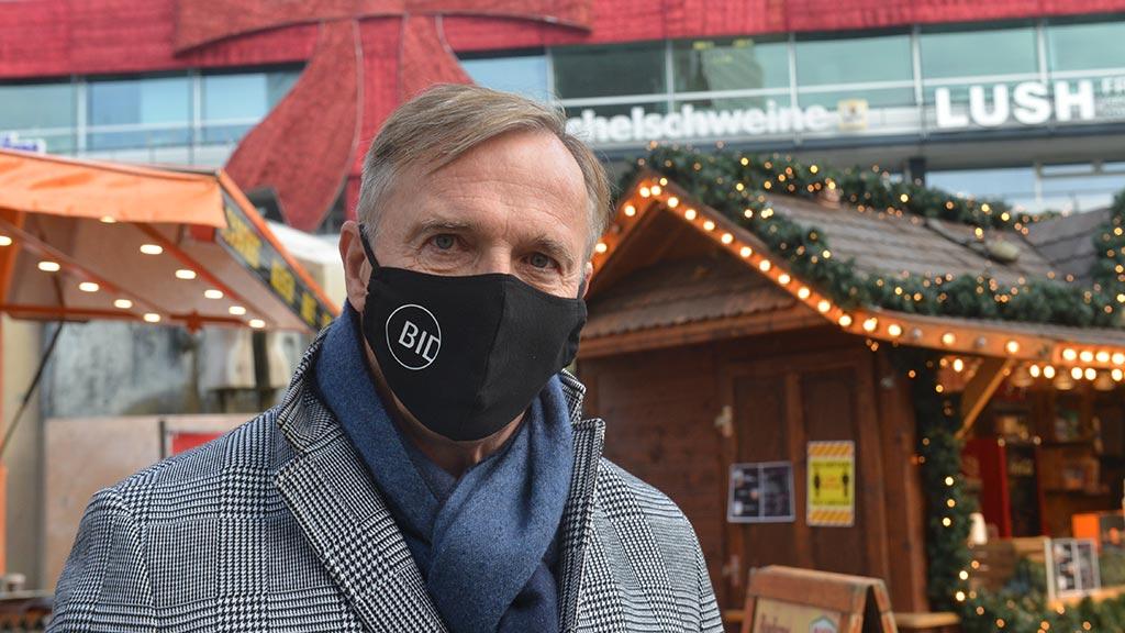 AG City-Vorstandsvorsitzender Klaus-Jürgen Meier