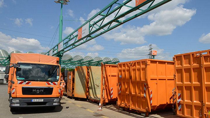 Dauerhafte Schließung des Recyclinghofs Tempelhofer Weg am 31. März 2021