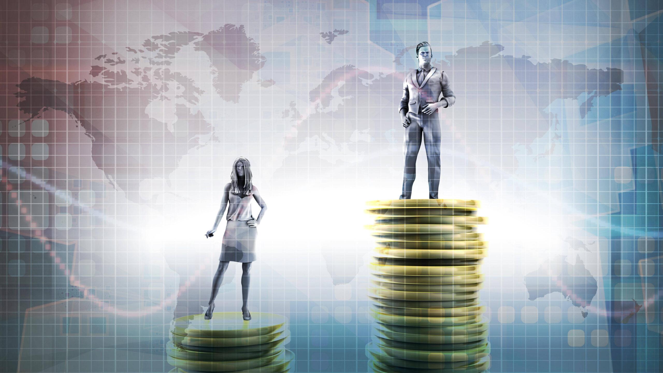 Gender Gap Frauen verdienen schlechtr