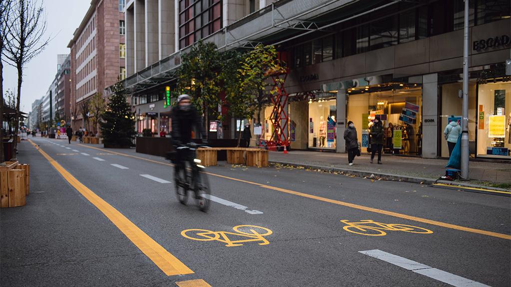 Auf einen Blick: Digitale Projektkarte zeigt Berliner Radverkehrsmaßnahmen
