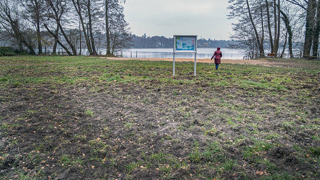 Berlin-Spandau: Groß Glienicker See schrumpft weiter