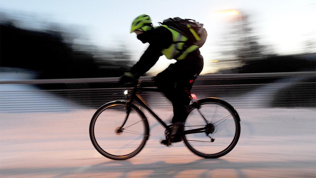 Radfahren im Winter: Wie die Zwiebel und mit Profil
